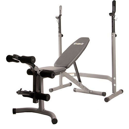 BODY CHAMP OLYMPIC 2-PIECE WEIGHT BENCH