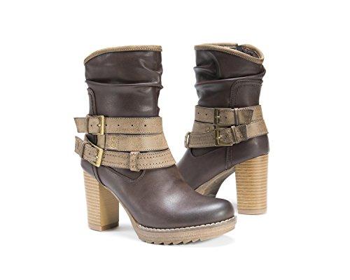 ... Muk Luks Kvinners Skylynn Boot Tan ...