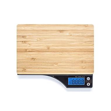 Beautiful Bamboo Digital Kitchen Food Scale By Wasserstein