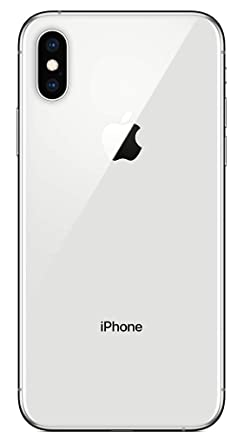 Apple iPhone XS, Unlocked, 64 GB - Silver (Renewed)