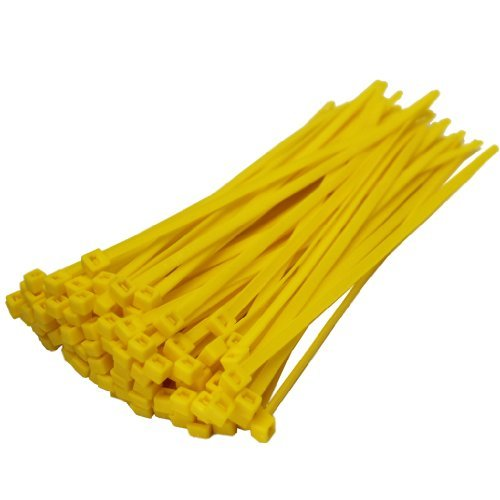All Trade Direct 1000 X Yellow Cable Ties 200Mm X 4.8Mm Z...