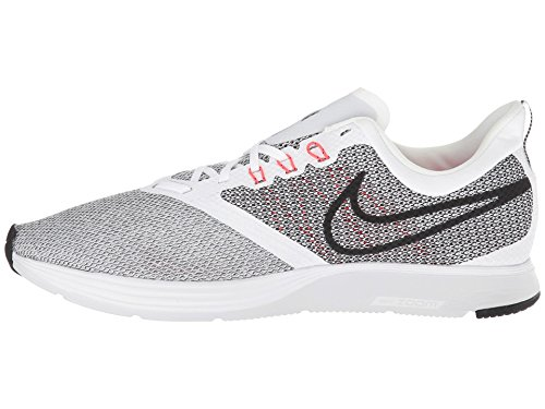 Platinum Pure Black White 101 Strike Bright Uomo Crimson Nike da Zoom Scarpe Corsa Multicolore xZ77SHwqa