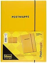 """Idena 10021 - Carpeta, A4, polipropileno con goma, texto""""Postmappe"""", color amarillo"""