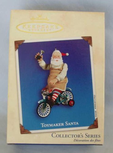 Hallmark Toymaker Santa #3 - VERY RARE dated 2002