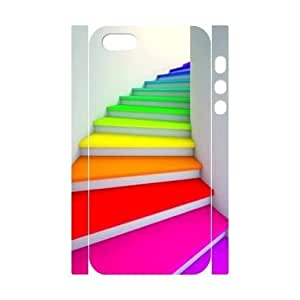 Rainbow DIY 3D Case Cover for iPhone ipod touch4 LMc-40458 at LaiMc