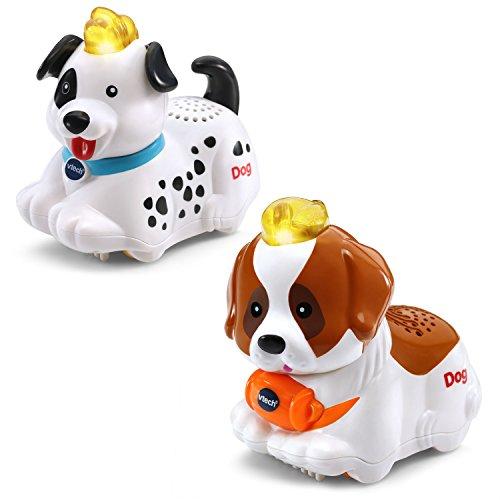 Animals 2-pack with Dalmatian and Saint Bernard ()