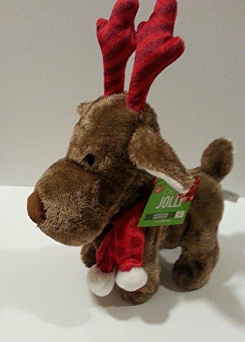 14 Inch Animated Musical Plush Reindeer - Sings Jingle Bells