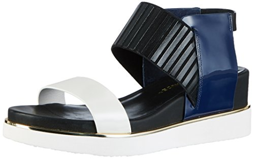 Sandals Toe Women's navy Open Mix Multicolored Rico United Nude pwxIXff