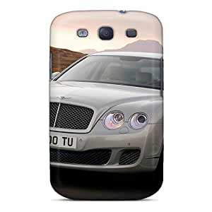 For Galaxy S3 Premium Tpu Case Cover Bentley Continental Flying Spur Speed 2009 Protective Case