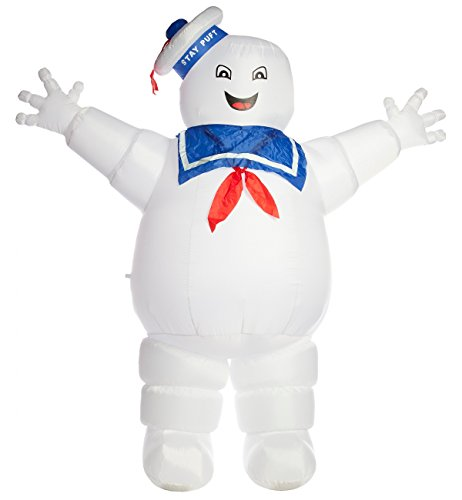 Inflatable Stay Puft Marshmallow Man Costume (Stay Puft Marshmallow Inflatable)