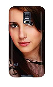 Hard Plastic Galaxy S5 Case Back Cover,hot Emma Roberts?wallpaper Case At Perfect Diy wangjiang maoyi by lolosakes