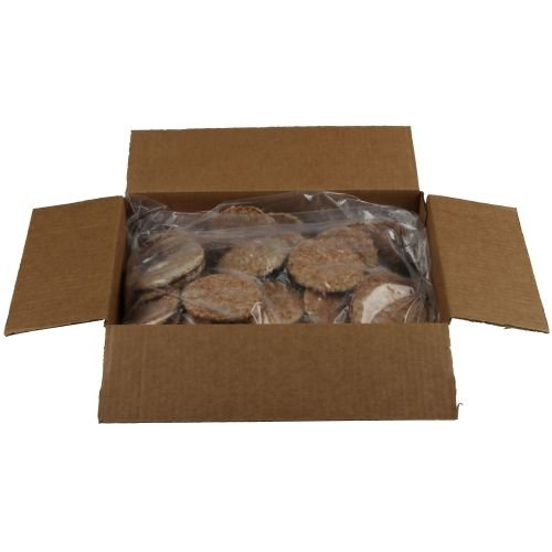 - Farmland Silver Medal Fully Cooked Wide Sausage Patty, 10 Pound -- 1 each.