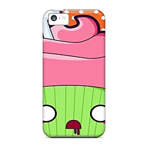 For Iphone 5c Premium Tpu Case Cover Zombie Cupcake Protective Case