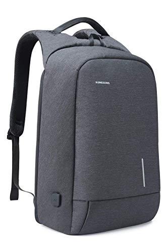 Lightweight Travel Laptop Backpack, Kingsons Business Travel Computer Bag Slim Laptop Rucksack 15.6