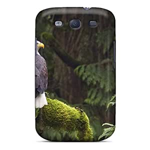 Eriores Galaxy S3 Hybrid Tpu Case Cover Silicon Bumper Birds Of Prey Ix