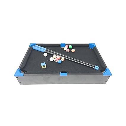 Amazoncom Mini Tabletop Neon Color Pool Set Billiards Game Toy - Neon pool table