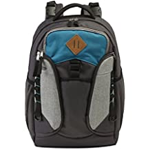 Jeep Adventurers Diaper Bag Backpack - Durable, Roomy, Design - Great for Outdoor Activities Like Hiking, Biking, and Sports - Styled for Men or Women - Grey/Turquoise