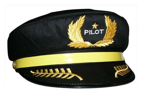 Air Force Pilot Costume (Child's Pilot Hat)