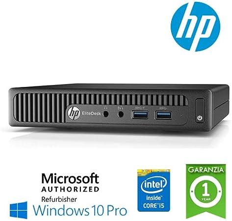 Ultraslim Pc Hp Elitedesk 800 G1 Dm Core I5 4590t 8gb Computers Accessories