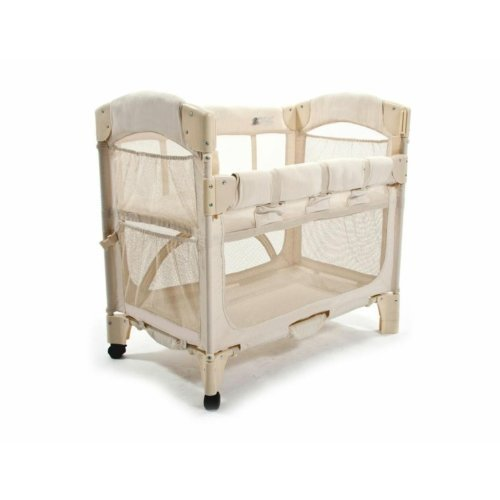 Arm 39 S Reach Concepts Co Sleeper Bassinet Mini Arc Natural