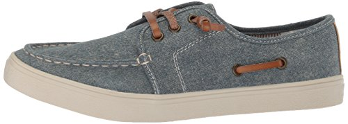 The Children's Place Boys' BB Laceup Street Slipper, Chambray, Youth 12 Medium US Infant - Image 5