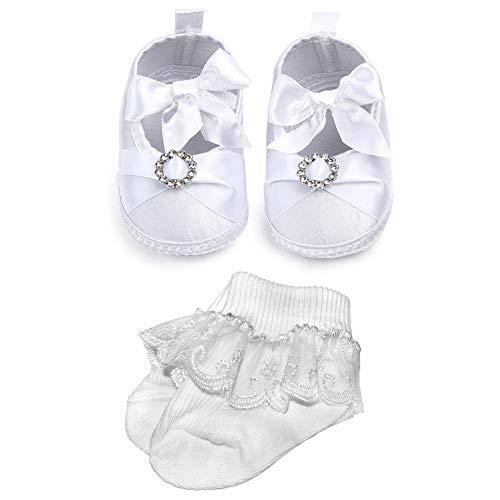 NewJourney Baby Christening Baptism Shoes]()
