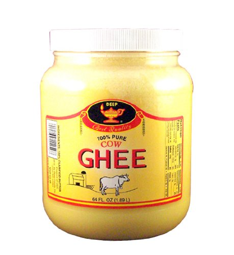 Deep Pure Cow Ghee Clarified Butter, 64 Ounce by DEEP (Image #1)