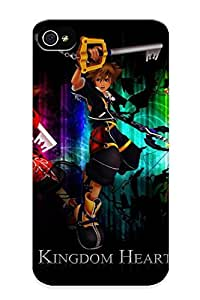 Flexible Tpu Back Case Cover For Iphone 4/4s - Future Of Kingdom Hearts Faction