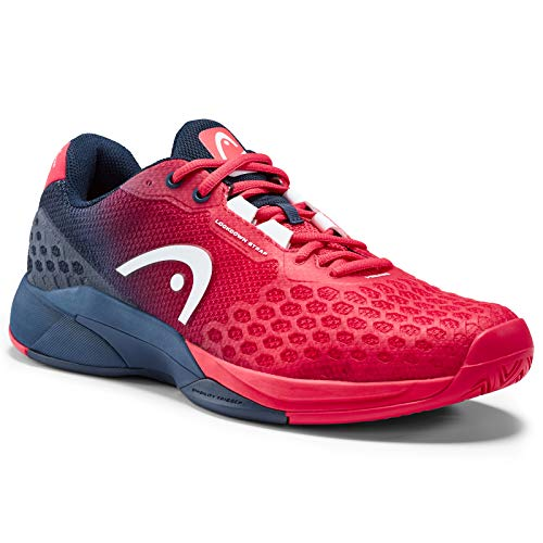 91586c0d87e1 HEAD Men's Revolt Pro 3.0 Tennis Shoes, Red/Dark Blue (10.0 US)