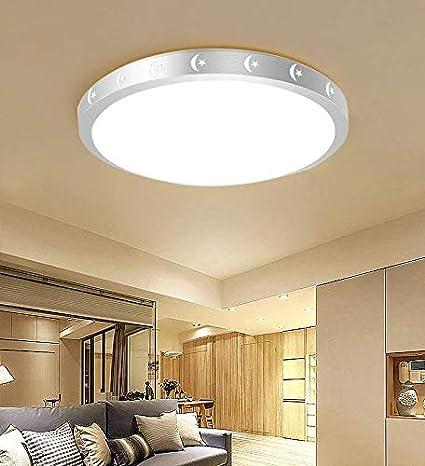 Led lámpara de techo redonda lámpara dormitorio redondo ...