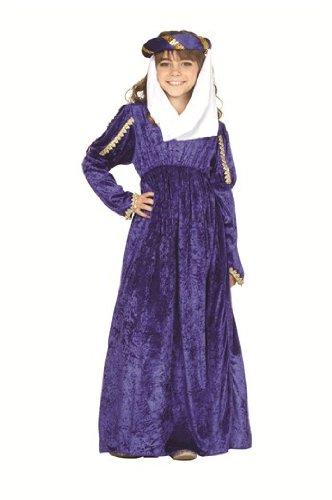 RG Costumes Renaissance Princess Costume, Child Medium, Blue ()