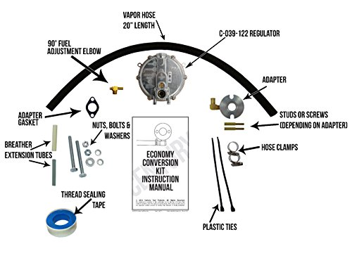 Propane Gas Conversion Kit - 8