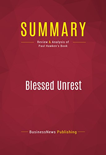 blessed unrest review