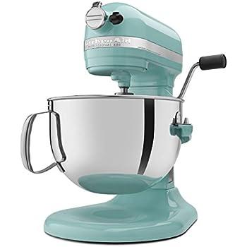 Amazon.com: KitchenAid KSM150PSAQ Artisan Series 5-Qt. Stand Mixer on turquoise blender, turquoise stand mixer, turquoise hand mixer,