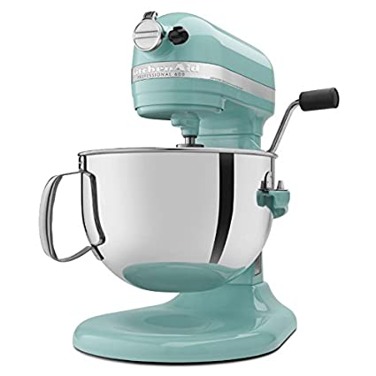 Genial KitchenAid Professional 600 Series KP26M1XER Bowl Lift Stand Mixer, 6  Quart, Aqua Sky