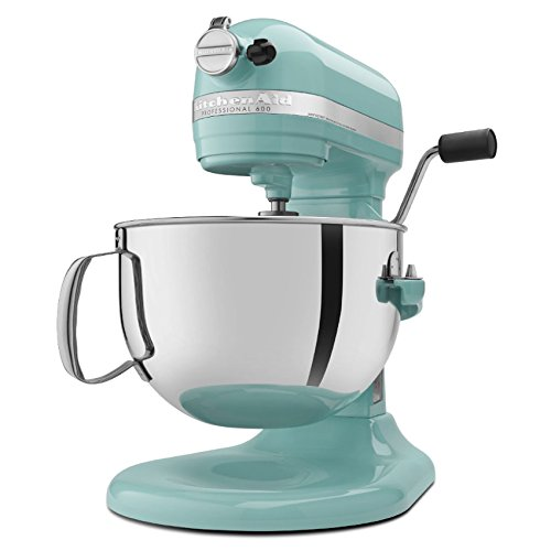 Kitchenaid Professional 600 Series Kp26m1xer Bowl Lift Stand Mixer 6 Quart Aqua Sky