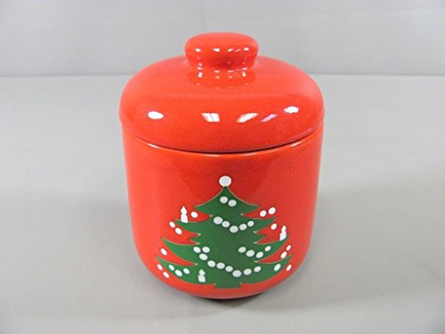 Waechtersbach CHRISTMAS TREE Cookie Jar, used for sale  Delivered anywhere in USA