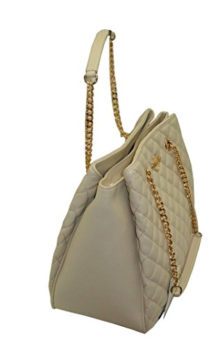 Borsa Love Moschino JC4007 PP14 trapuntata women handbag shopping avorio