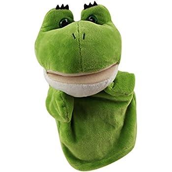 Amazon Com Hape Beleduc Frog Glove Kid S Hand Puppet