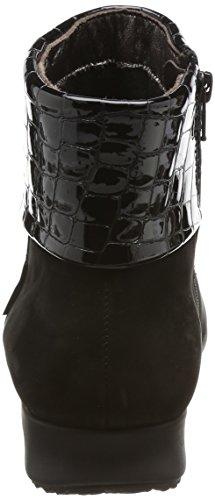 Mephisto Womens Fiducia Black Nubuck Boots 38 EU