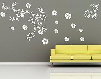 wall tattoo adesivi murali adesivo muro tatuaggio Soggiorno ...