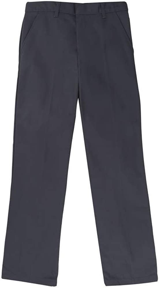 French Toast Boys Straight Fit Pant w//Adjustable Waist 16 Blue Gray