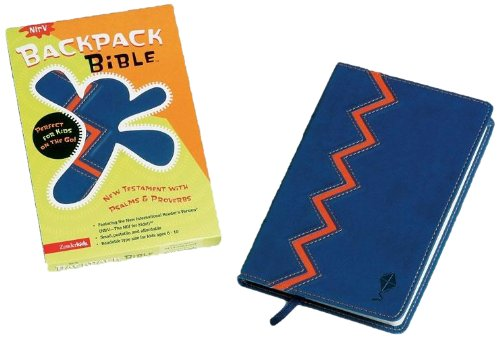NIrV Backpack Bible, New Testament with Psalms and Proverbs