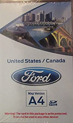 Ford SD Card # DM5T-19H449-AB USA//CAN