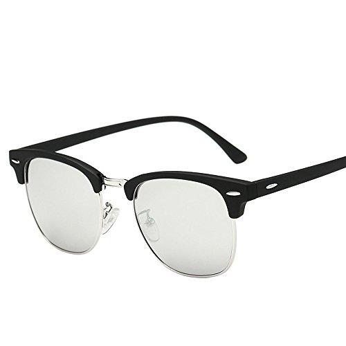 Covermason Lunettes De Soleil Hommes femmes carré Vintage en miroir lunettes de soleil lunettes Outdoor Lunettes de sport (C) pnpEKhGp