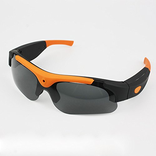 BALIYIN 1080P Wireless Bluetooth High Definition Long TIme Standby Outdoor Smart Boxer DV Sunglasses Smart Outdoor Sport Polaroid - Your Face Which Suit Glasses