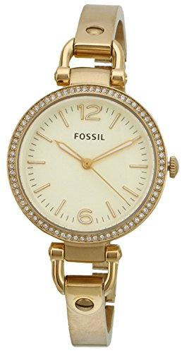 Fossil Women's ES3227 Georgia Glitz Gold-Tone Stainless Steel Watch with Gold-Tone Stainless Steel Bracelet