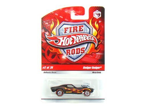 Hot Wheels Fire Rods #2/26 - Rodger Dodger Hot Wheels Fire Rods