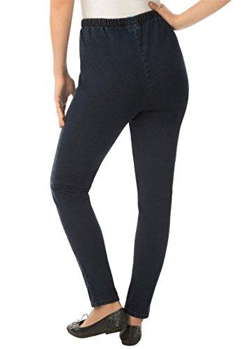 Women's Plus Size Petite Leggings, Stretch, Denim lovely - fikon.si