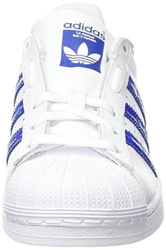 Superstar UK Blue White Trainers Boys' White 0 5 3 Bold Bold White adidas Blue Footwear 5tPYqw